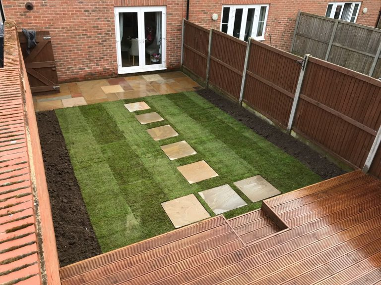 Cheshunt Turfing Services - CM Garden and Tree Care Herts, London and Essex
