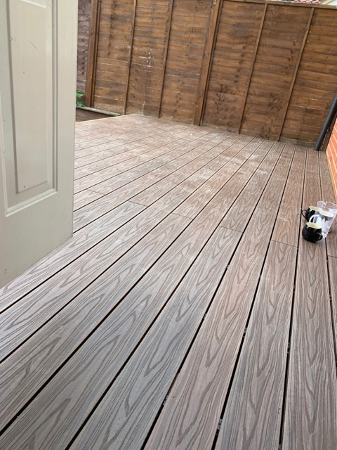 Composit Decking Installation Service - CM Garden Care Herts